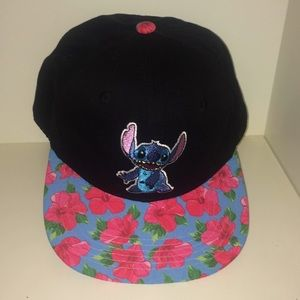 Disney Accessories - Disney Lilo and Stitch Hawaiian Snapback Hat 0d7ee31e771